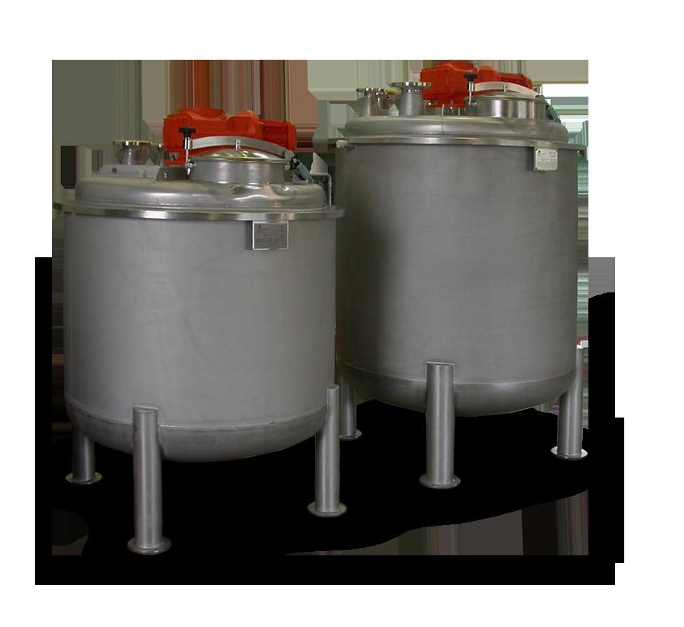 Behälter und Apparatebau - Rührwerksbehälter